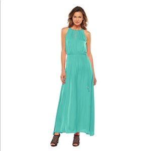 NWT Jennifer Lopez Silky Maxi Dress